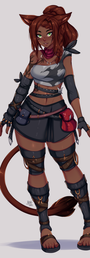 Y'lise the Mi'qote (commissioned)