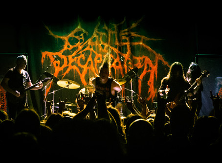 Gig Gallery: Cattle Decapitation @ The Factory Theatre - Sydney