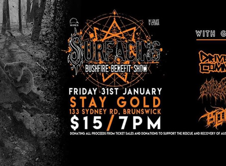 Aussie Slipknot Tribute Band Plus Guests To Host Bushfire Benefit Show For Wildlife
