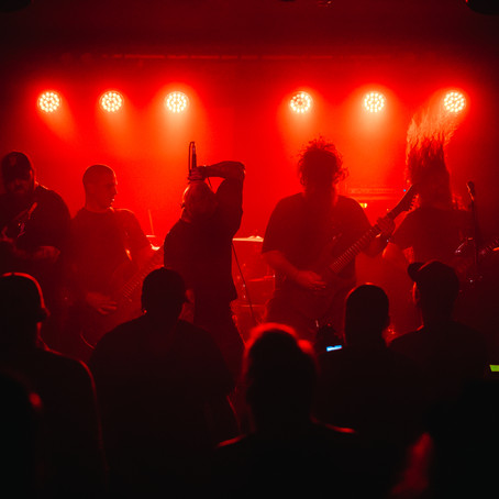 Gig Review: EARTH CALLER + INHIBITOR + ANTICLINE + DWELLER @ The Workers Club, Melbourne - 02/04/21