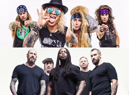 Steel Panther + Sevendust Team Up For 'Heavy Metal Rules' Australian Tour This May!