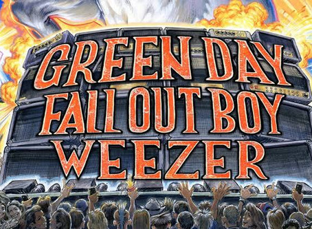 Green Day, Fall Out Boy & Weezer Announce Hella Mega Australian Tour