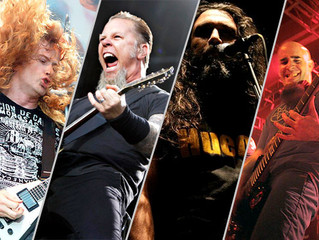 The 'BIG FOUR' of Modern Metal