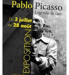 Exposition de photos autour de l'artiste Picasso