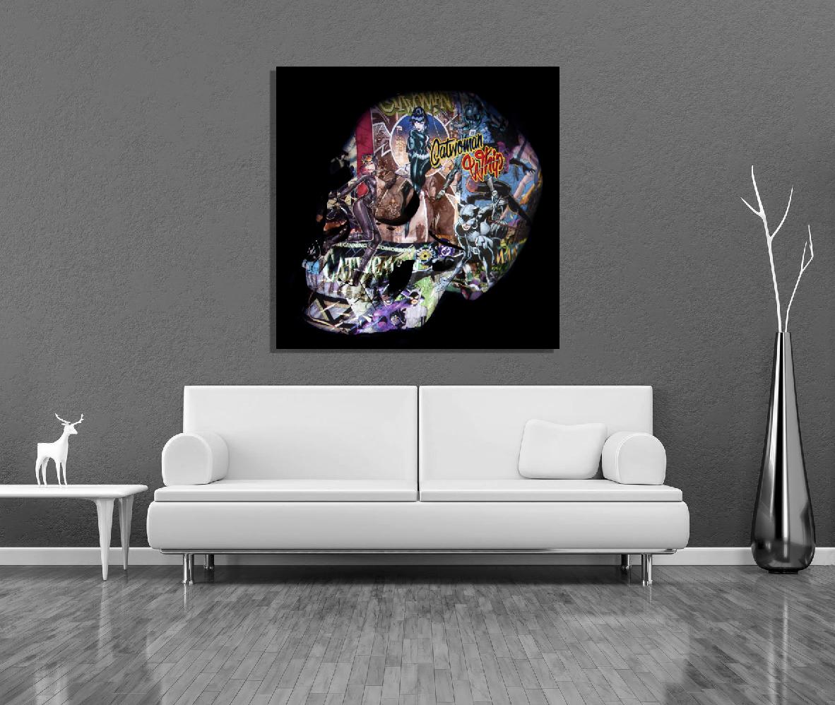 skull cat woman 2019