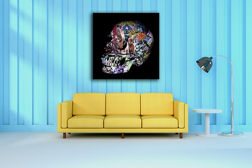 Tableau Cat Woman 2 Vente d'oeuvre d'art en ligne Charly N'doumbe