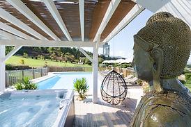 la piscine de la ferme elhorga