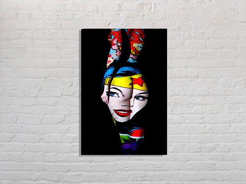 Tableau Wonder Woman photographie Pop Art vente d'oeuvre d'art en ligne