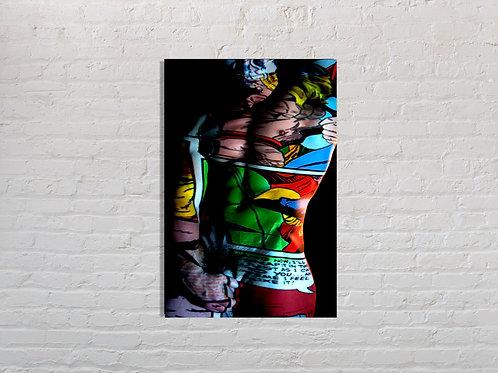 Tableau Super héros 12  photographie Pop Art vente d'oeuvre d'art en ligne