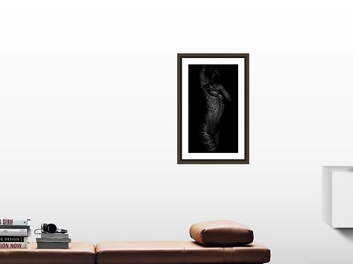 Lithographie Orientale dream Arabesque on body