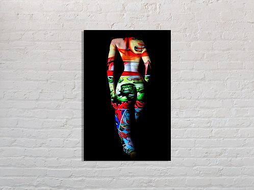 Tableau Hulk  photographie Pop Art  Vente d'oeuvre d'art en ligne