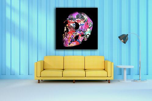 Tableau Harley Queen Vente d'oeuvre d'art en ligne Charly N'doumbe