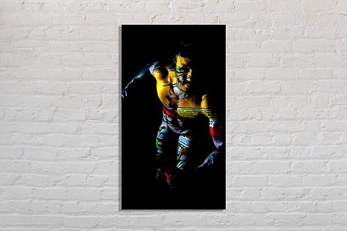 Tableau Yellow photographie Pop Art vente d'oeuvre d'art en ligne
