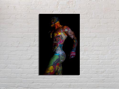 Tableau Hulk vente d'oeuvre d'art en ligne Charly N'doumbe