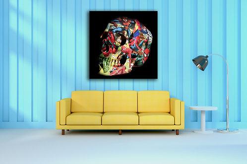 Tableau Spiderman Vente d'oeuvre d'art en ligne Charly N'doumbe