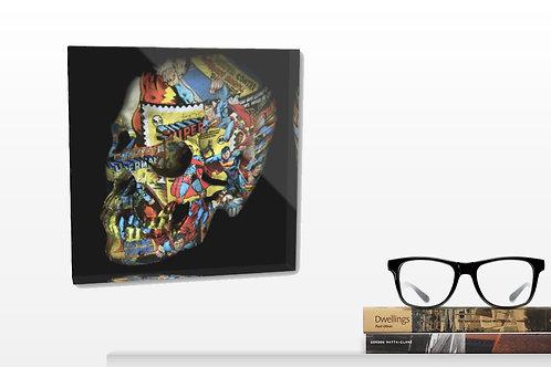 Bloc Résine Superman, vente d'oeuvre d'art en ligne