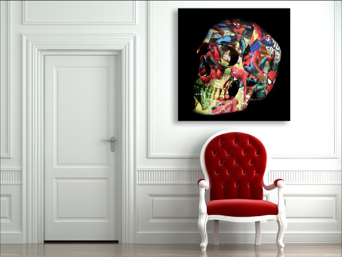 skull Spiderman 2019