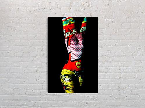 Tableau Wolverine photographie Pop Art Vente d'oeuvre d'art en ligne