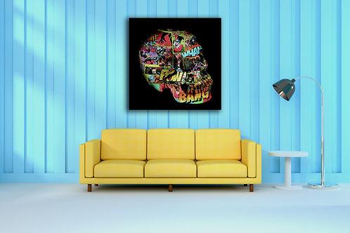 Tableau Joker Girl Vente d'oeuvre d'art en ligne Charly N'doumbe