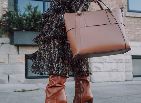 Saia mídi + bota: a dupla que é perfeita para o inverno!