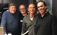 L-R; Cousin Bruce Morrow,  George Cameron Grant, Lou Christie, Vince Bandille