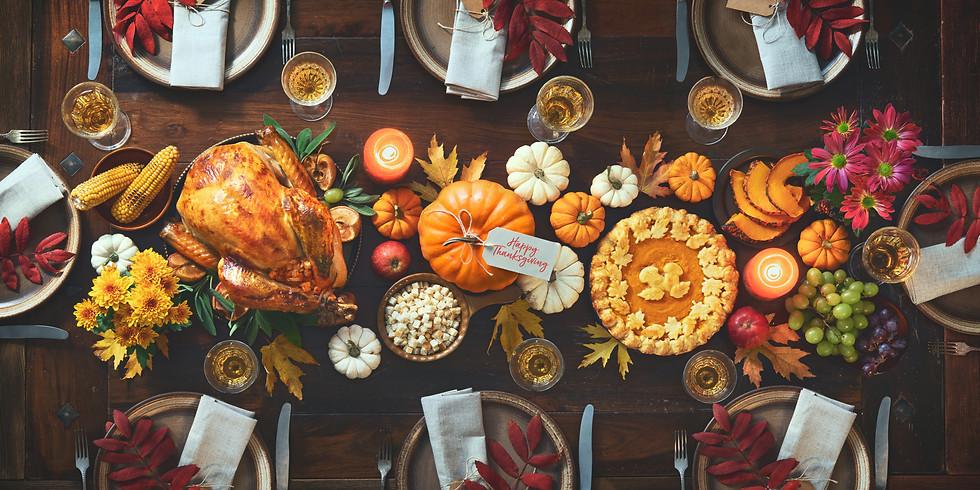 Thanksgiving Dinner @ PINE