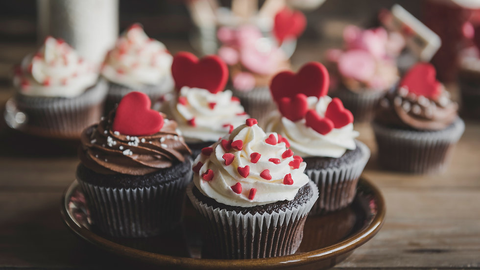 Six (6) Chocolate Cupcakes
