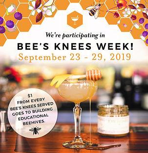 Bee's Knees Week On Premise  Poster - 8x