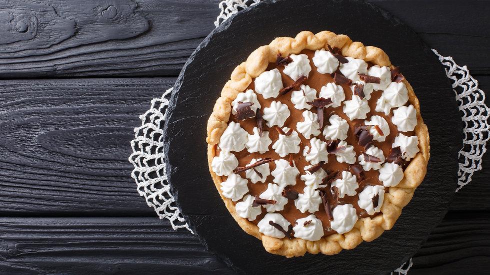 "10"" Chocolate Cream Pie"