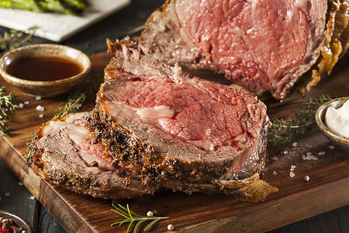 One (1) lb. Sliced Prime Rib Roast