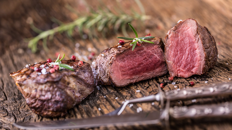 One (1) lb. Sliced Roasted Beef Tenderloin