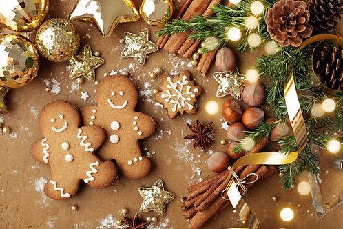 One (1) Dozen Assorted Christmas Cookies