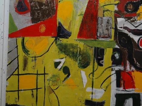 Painting Larry Webb