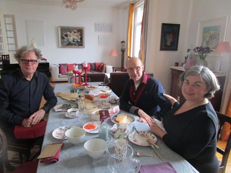 Vladimir Lyskov-Strewe and Delphine Saucier