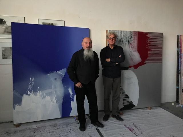 Studio visit Michele Gazich in Utrecht