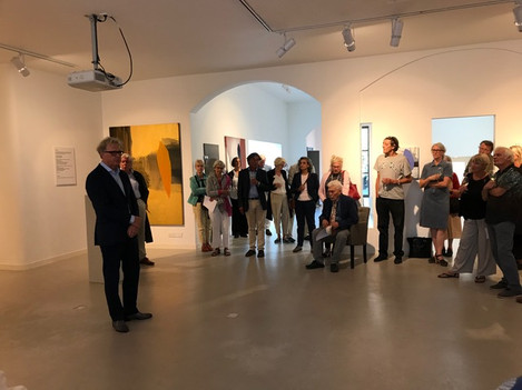 Opening of the exhibition 'The Journey'