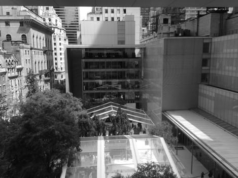 From MOMA balcony
