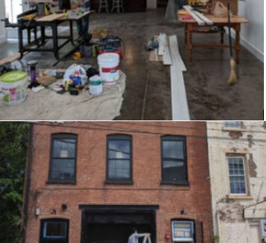 NEWBURGH NEW YORK  HOLLAND TUNNEL ART GALLERY & STUDIOS