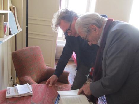 Michel Deguy, Paris, 2017-04-28