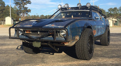 Zombie Road Mustang