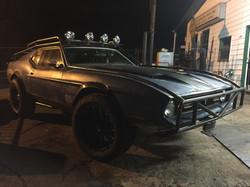 Night time Mustang