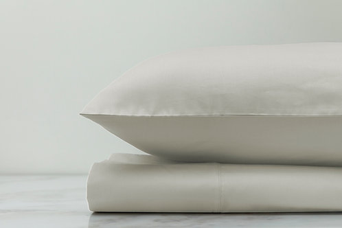 Hemmed Sheet Set Cream
