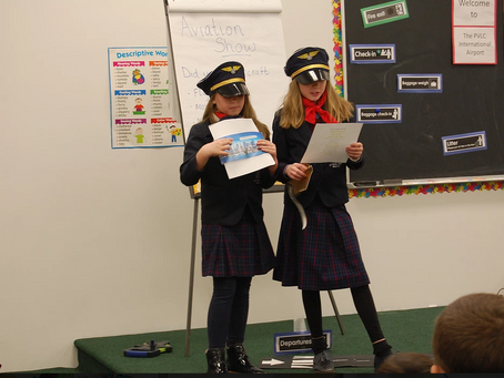 Pascack Valley - 5th and 6th Grade Air Show