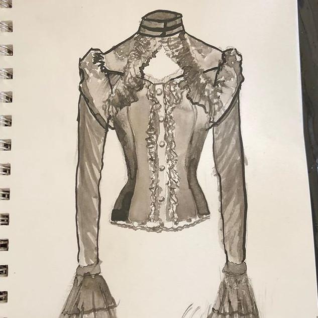 Gothic Victorian sketchbook series
