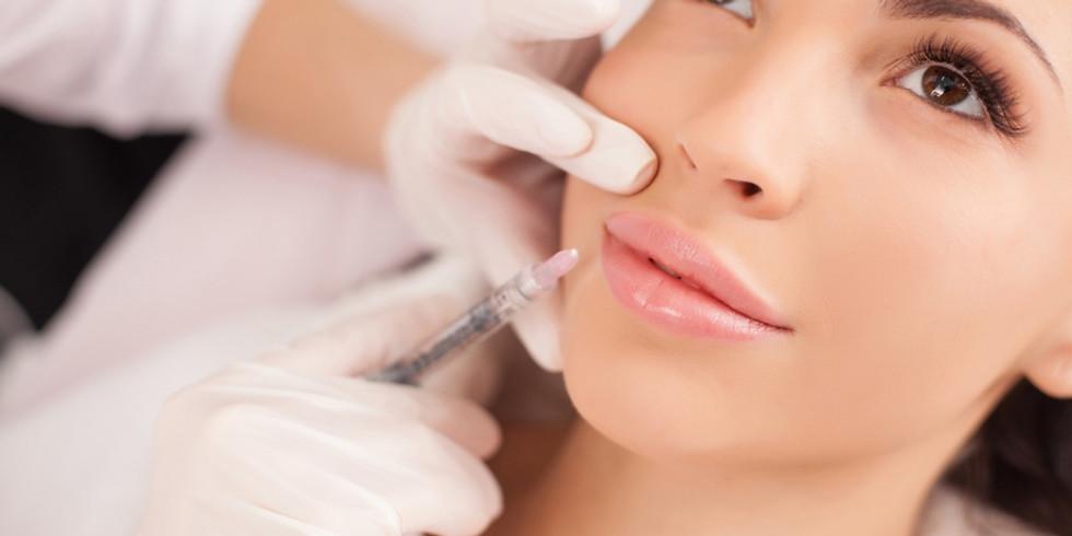 Curso para aplicação de toxina botulínica e ácido hialurónico em Medicina Dentária