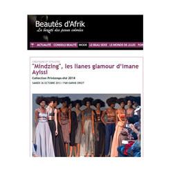 Beautés d'Afrik Mindzing