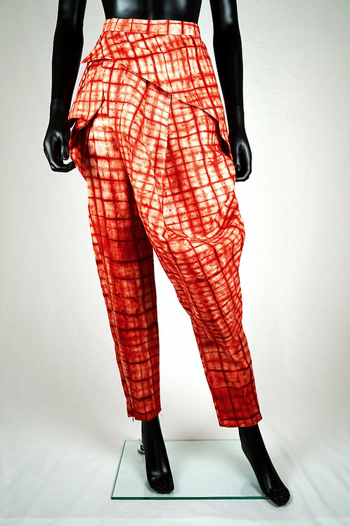 Pantalon pagne en coton imprimé