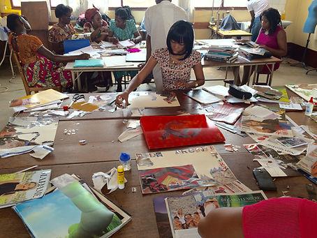 Workshop Imane Ayissi à Yaoundé
