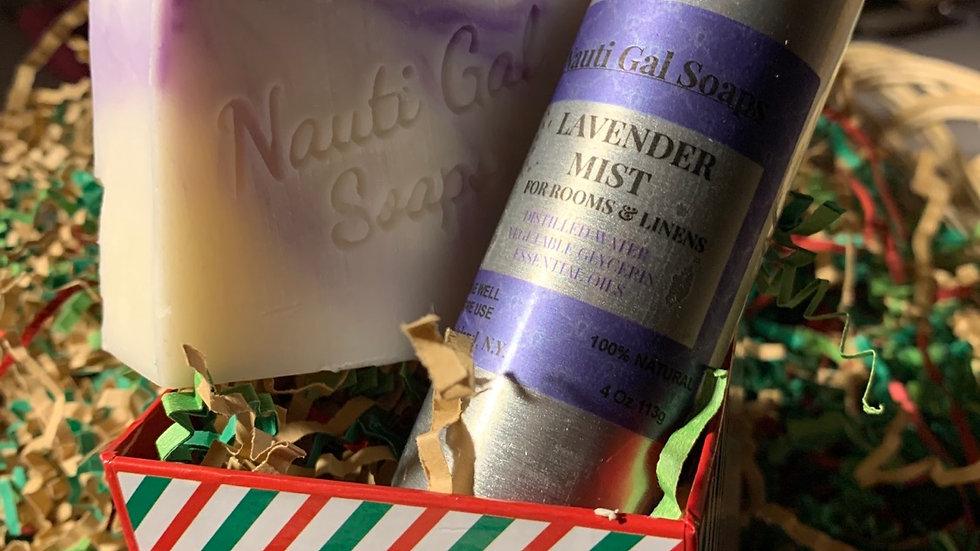 Mini Gift Set Lavender or Lemongrass