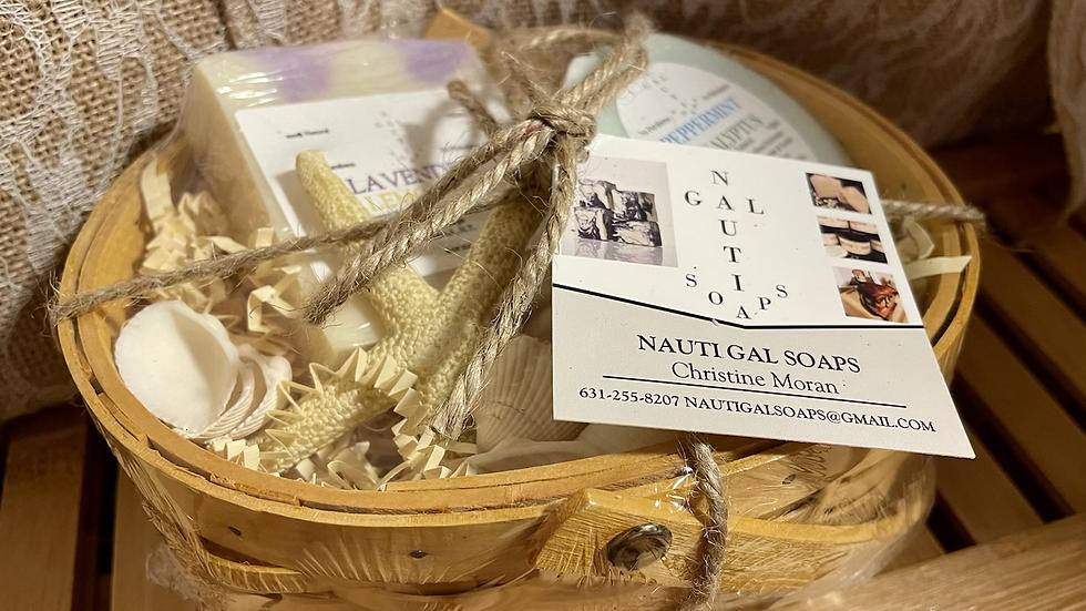 2 soap Gift Basket